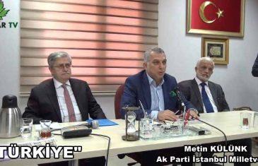 """Metin KÜLÜNK """"Türkiye"""""""