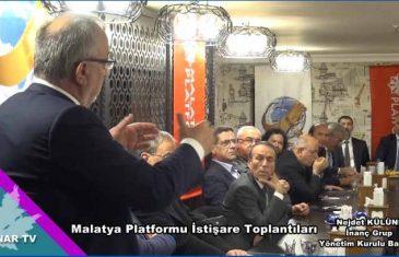Nejdet Külünk Malatya Platformu Konuşması