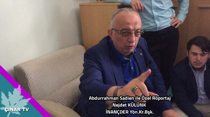 Abdurrahman Sadien İle Özel Röportaj