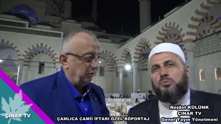 Çamlıca Camii İftar Özel