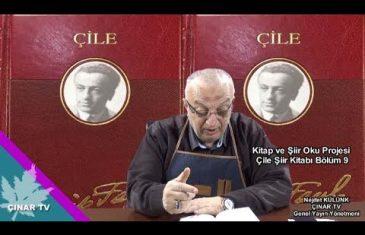 Kitap ve Şiir Oku Projesi Çile Şiir Kitabı Bölüm 9