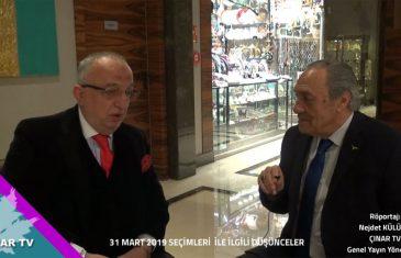 Yusuf SÜNGÜ ile 31 Mart 2019 Seçimleri Yorumları