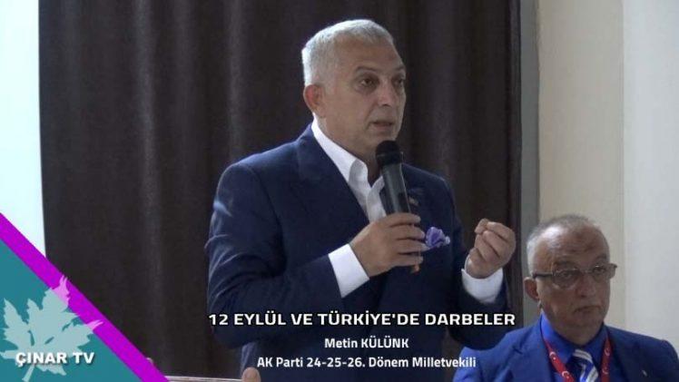 12 Eylül ve Türkiyede Darbeler /Metin Külünk