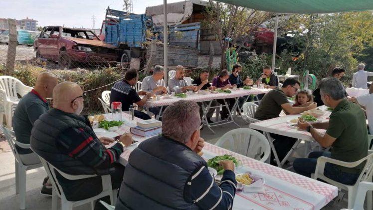 Evliya Çelebi Nakliyat Tır Parkında 6 Mangalda Balık Günü