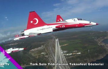 Türk Solo Yıldızlarının Teknofest Gösterisi