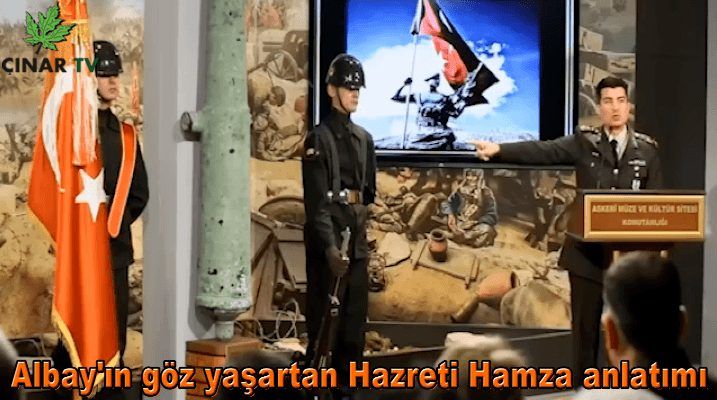 Albay'ın göz yaşartan Hazreti Hamza anlatımı