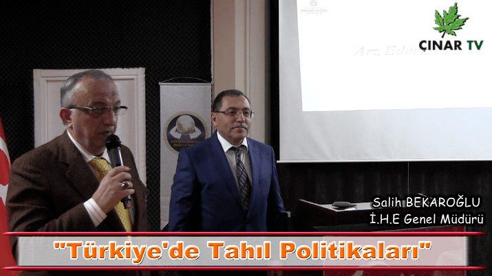 Türkiye'de Tahıl Politikaları