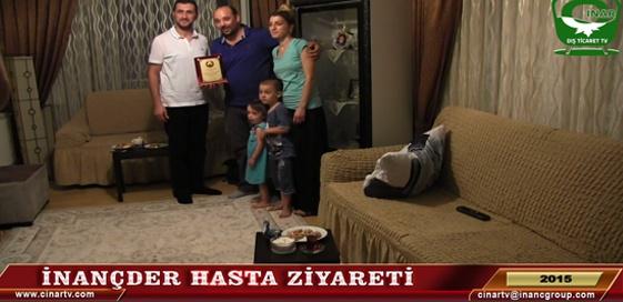 İNANÇDER HASTA ZİYARETİ -2