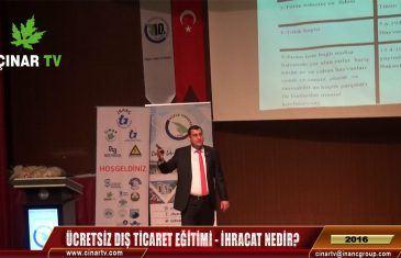 Düzce Üni.'de Ücretsiz Dış Ticaret Eğitimi | İhracat