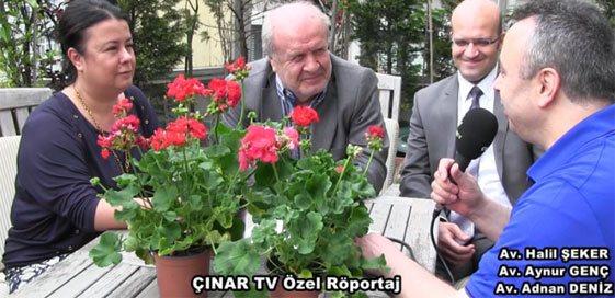 Av.Halil ŞEKER ve Ekibi ile Özel Röportaj