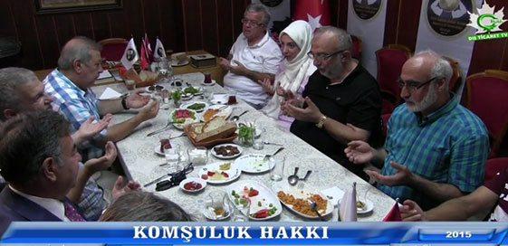 """İNANÇDER """"KOMŞU KOMŞUNUN KÜLÜNE MUHTAÇTIR-6"""""""