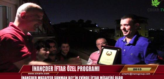 İftar Özel Programında Muzaffer SUNMAN Bey'in Evine Konuk Olduk